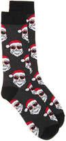 K. Bell Men's Sunglasses Santa Men's Crew Socks
