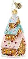 Christopher Radko Tasty Triple Decker Gingerbread House Ornament