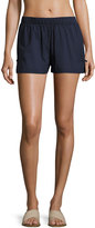 Kate Spade Stretch Cover-Up Shorts, Navy