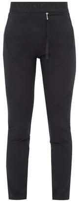 Moncler 2 1952 - Panelled Technical Jersey Leggings - Womens - Black
