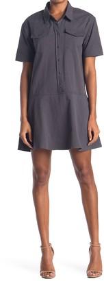 Hyfve Short Sleeve Collared Dress
