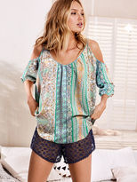 Victoria's Secret Off-the-Shoulder Tunic