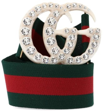 Gucci Double G Embellished Belt