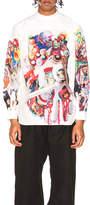 Comme des Garcons Broad Ink Jet Print Shirt