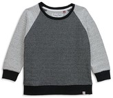 Sovereign Code Boys' French Terry Herringbone Raglan Sweatshirt - Big Kid