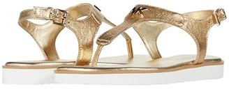 MICHAEL Michael Kors Brady Thong (Pale Gold) Women's Shoes