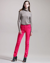 Maison Martin Margiela Skinny Fuchsia Jeans