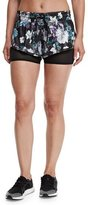 adidas by Stella McCartney Run Dark Blossom 2-in-1 Shorts