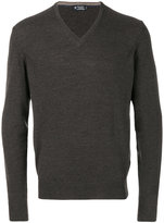 Hackett V-neck jumper - men - Silk/Cashmere/Merino - S