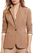 Lauren Ralph Lauren Notch Lapel Tweed Blazer