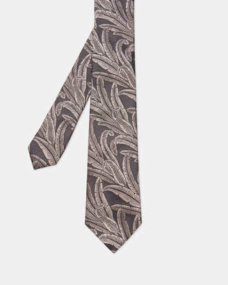 Ted Baker BAYSIL Jacquard silk tie