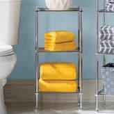 """Rebrilliant 13"""" W x 29.75"""" H Bathroom Shelf"""