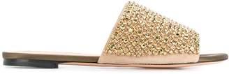 Rochas embellished strap sandals
