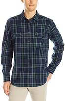 Obey Men's Highland Woven Shirt