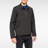 Paul Smith Men's Black Lightweight Shower-Proof Harrington Jacket