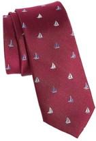 Nordstrom Men's Sailboat Silk Skinny Tie
