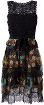 Etro lace layered dress