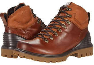 Ecco Tredtray Retro Boot (Amber/Amber) Men's Shoes