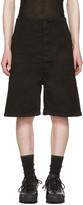11 By Boris Bidjan Saberi Black Chino Shorts