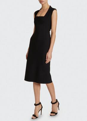 Alaia Knee-Length Sheath Dress