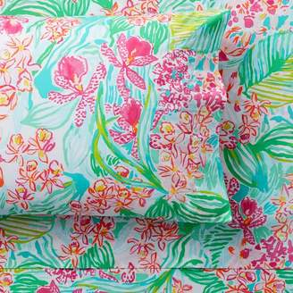 Pottery Barn Teen Lilly Pulitzer Orchid Pillowcases, Set of 2, Multi