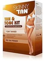 Skinny Tan - Tan & Tone Kit - No Orange, No Streak Lotion All Skin Types