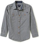 Lucky Brand Big Boys 8-20 Deer Lake Woven Shirt