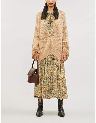 Free People Home Town relaxed-fit knitted cardigan