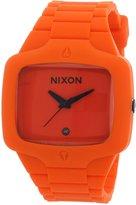 Nixon Men's A139-195 Rubber Analog Dial Watch