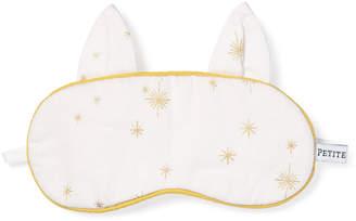 Petite Plume Kid's Gilded Celebration Kitty Ears Eye Mask