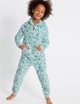 Marks and Spencer Hooded Long Sleeve Onesie (1-16 Years)