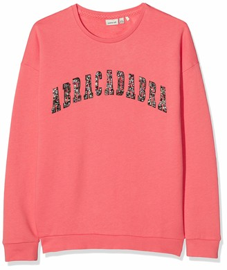 Name It Girl's Nkfregitse Ls Sweat Box Bru Jumper