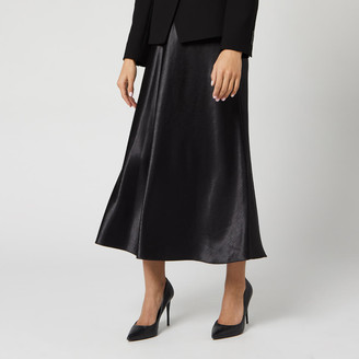 HUGO BOSS Women's Racela Satin Skirt