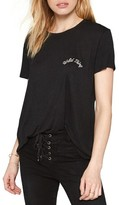 Amuse Society Women's Daxton Embroidered Tee