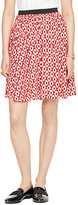 Kate Spade Posy ikat elasticated skirt