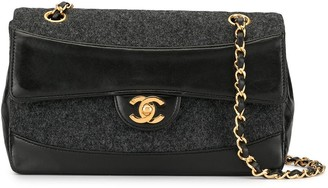 Chanel Pre Owned Quilted Cross-Body Bag