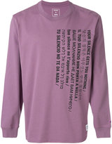 Converse text print T-shirt