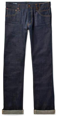 Visvim Social Sculpture 01 Slim-Fit Raw Selvedge Denim Jeans
