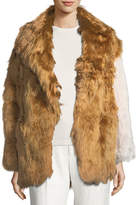 Calvin Klein Collection Alpaca Fur Coat
