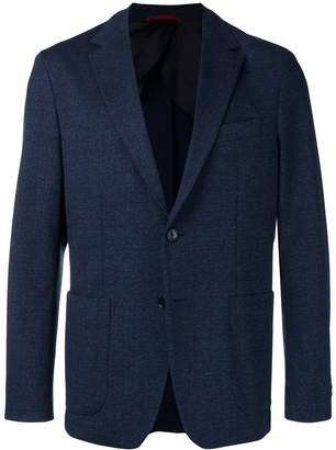 Fay classic fitted blazer