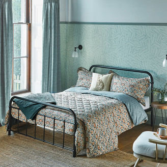 Morris & Co - Little Chintz Duvet Cover - Teal - Double