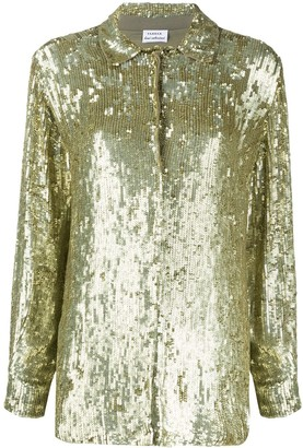 P.A.R.O.S.H. Sequin Embellished Shirt