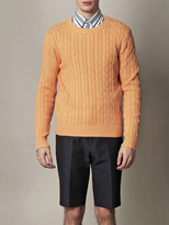 Gant Landing cable-knit sweater