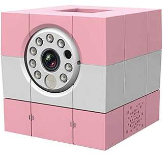 Amaryllo HD Skype Wireless IP Camera (Pink)