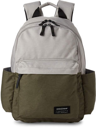 Swiss Gear Olive & Ivory Laptop Backpack