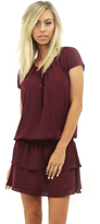 Amanda Uprichard Holly Dress in Wine