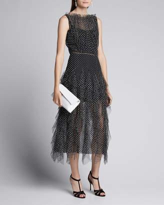 Jason Wu Collection Polka Dot Tulle Dress