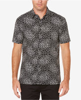 Perry Ellis Men's Geometric Web Shirt