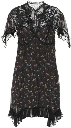 Coach Lace-yoke floral dress