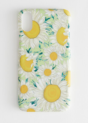 And other stories Sunflower iPhone Case